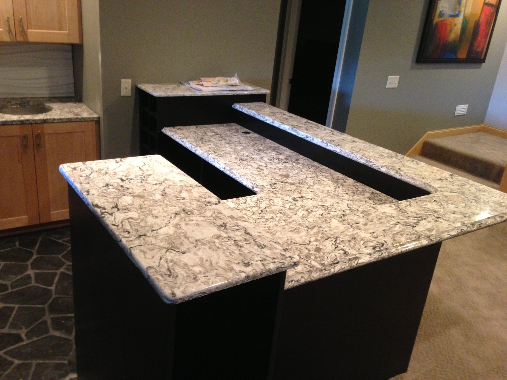 office m granite countertops haala c llc countertop cambria quartz statement and installation cabinets bellingham