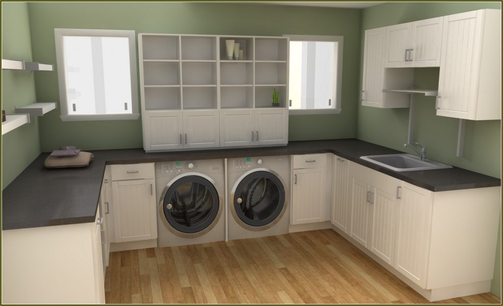 Laundry Room Makeover C M Cabinets And Granite Llc
